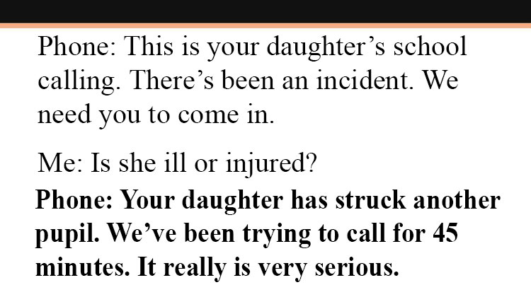 Image result for School Calls Mom After Daughter Hits A Student, But Mom's Response Left Them Speechless.