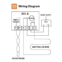 How To Wire Underfloor Heating Wiring Diagram. Electrical ...