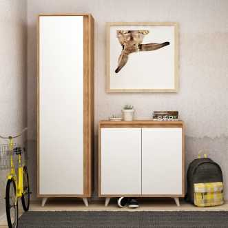 armoire a chaussures omninde 50 x 35 x 192 cm