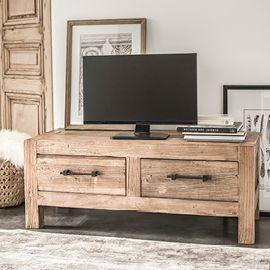 meuble tv industriel banc tv