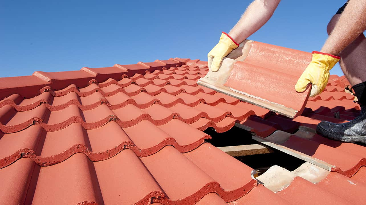 clay or concrete tile roof problems