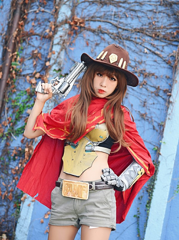 Overwatch Female McCree Bi Ryong Inven Global