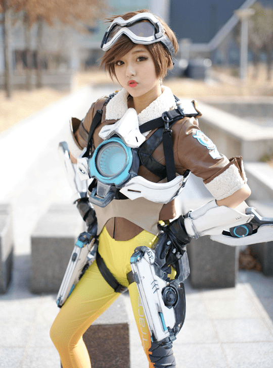The Cavalrys Here Tracer Cosplay Inven Global