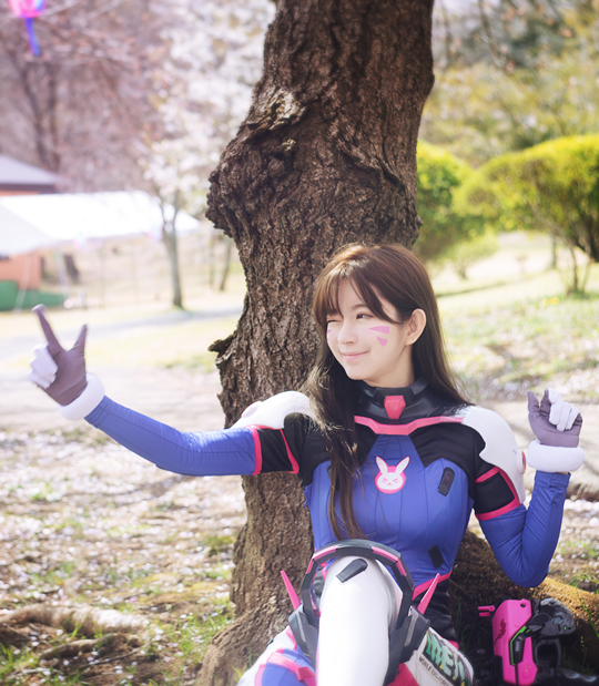 Overwatch Cherry Blossom DVA Yurisa Inven Global