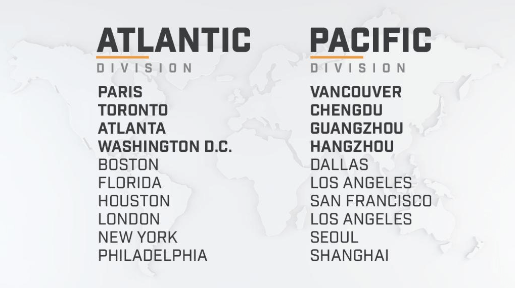 2019 Overwatch League schedule, format changes announced