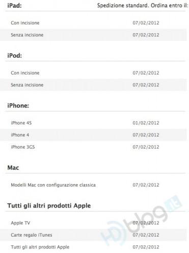 Acquistate un iPad sull'Apple Store Online entro il 7
