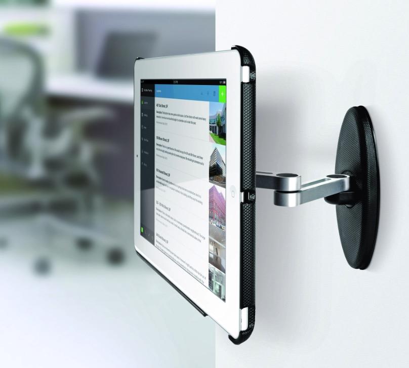 Da Meliconi il supporto da parete a doppio braccio per iPad  iPad Italia