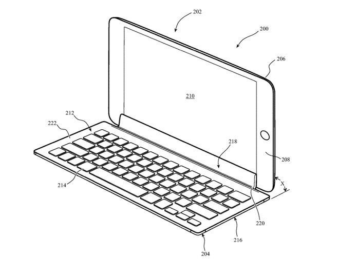 Le tastiere per iPad potranno collegarsi allo schermo