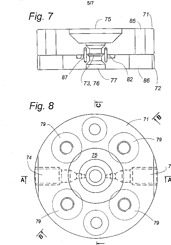 A method and flow system for spectrometry and a cuvette