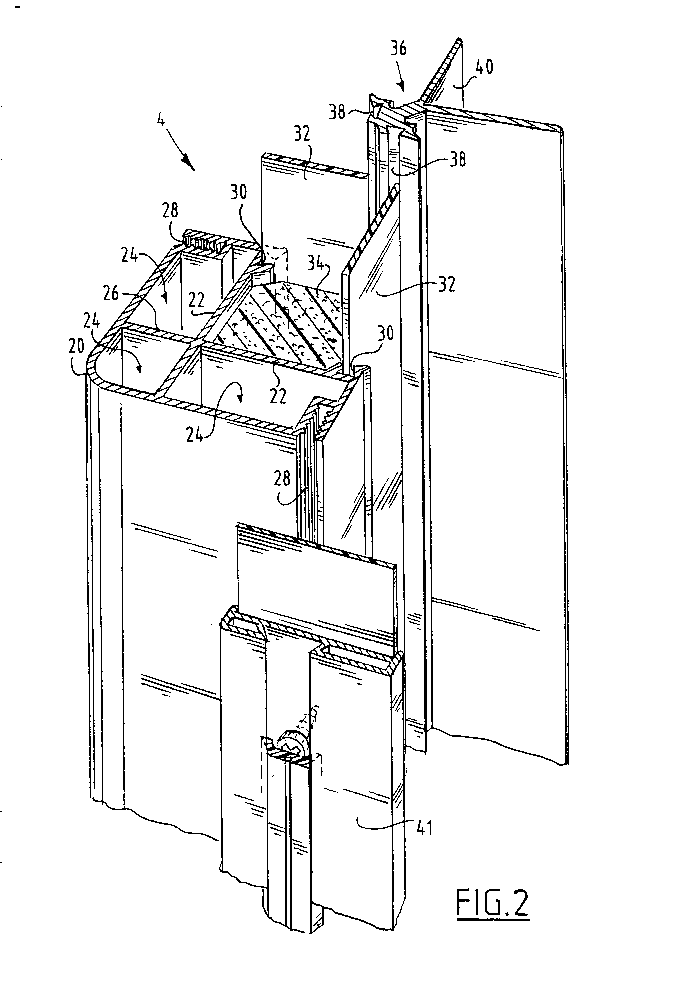 Assembly for an air conditioning cabinet by Holland