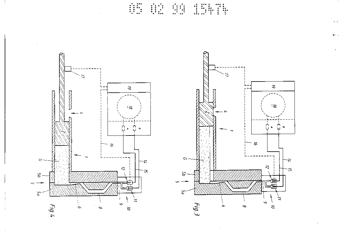 Method & apparatus for venting a diecasting mould of a