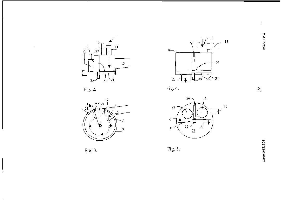 Method and apparatus for incineration of combustible waste