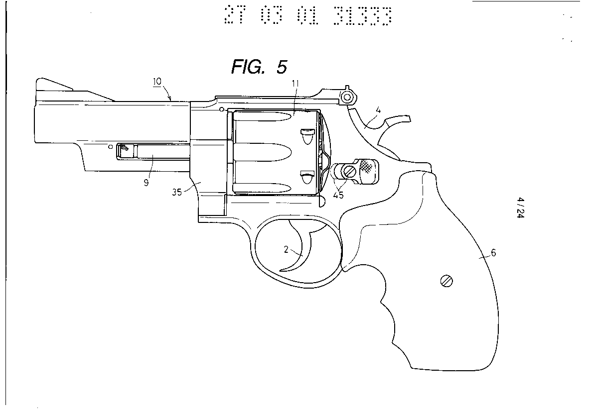 Model gun in the type of revolver by Western Arms