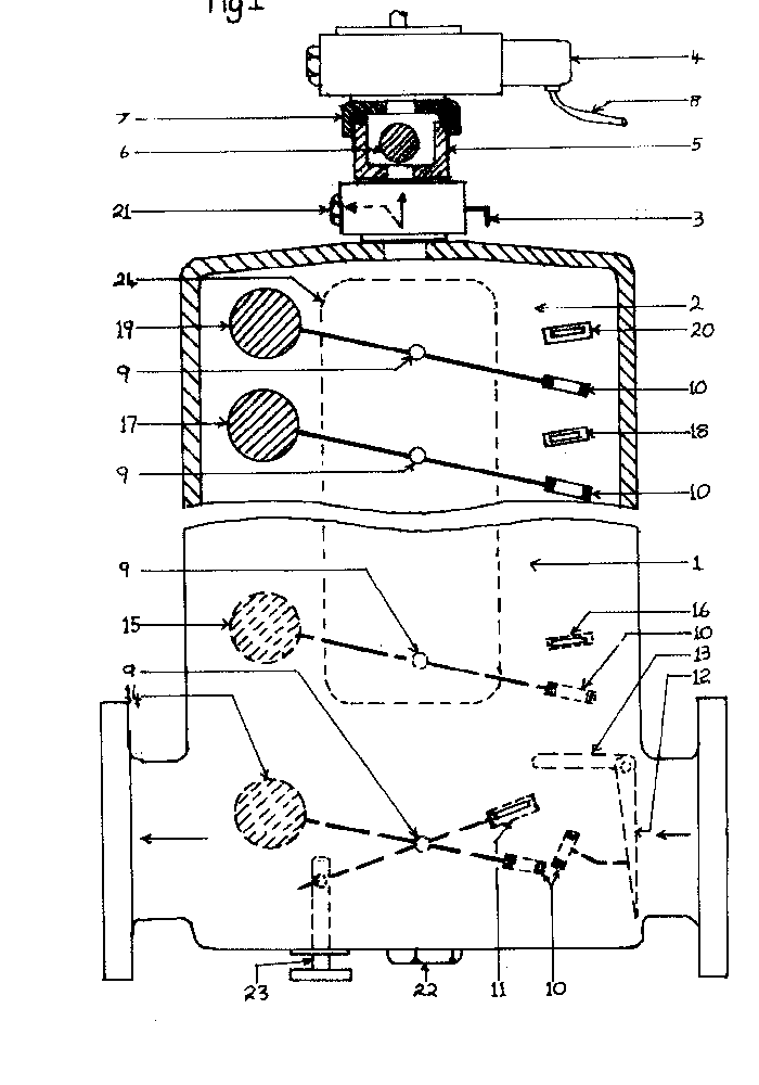 Modified buchholz relay for continuous monitoring of gas