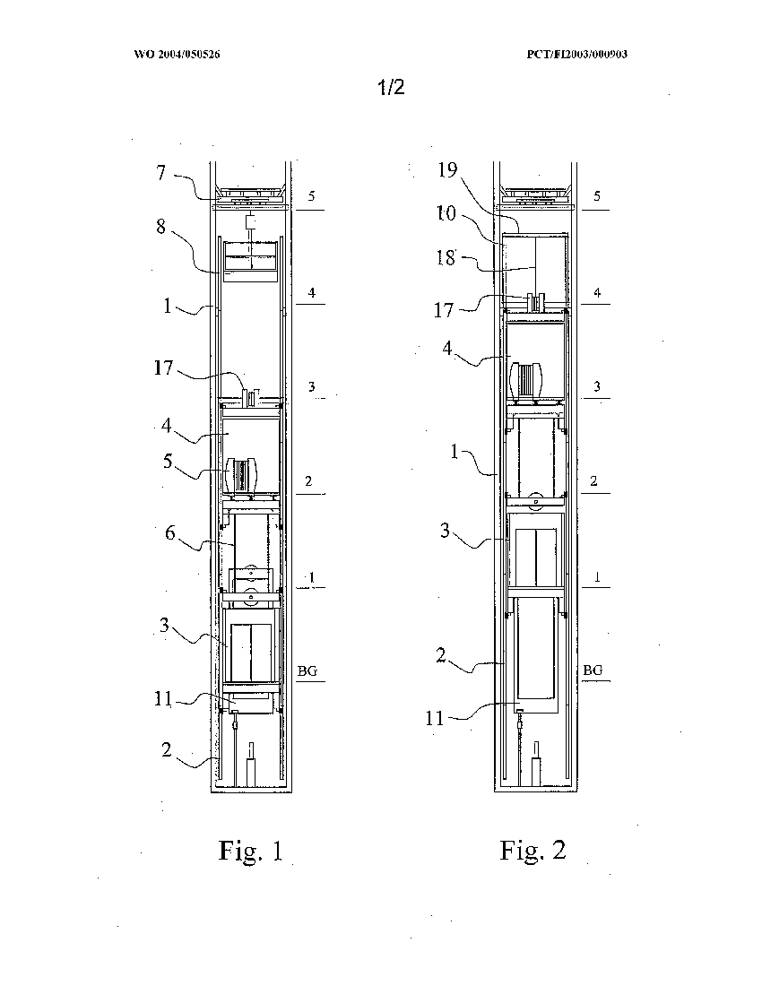 Method and apparatus for installing an elevator during