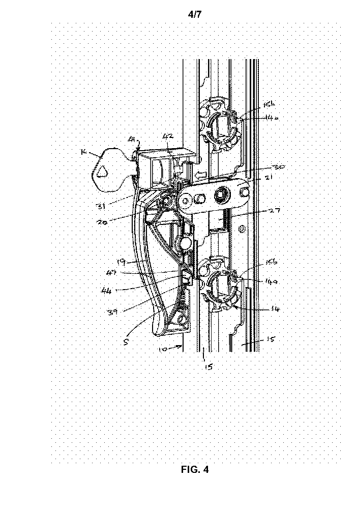 A Louvre Assembly Locking Mechanism by ASSA ABLOY IP AB