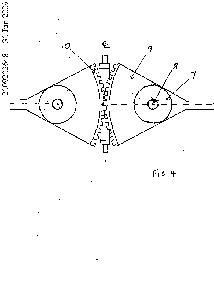 A mechanical oar for use in forward facing rowing by