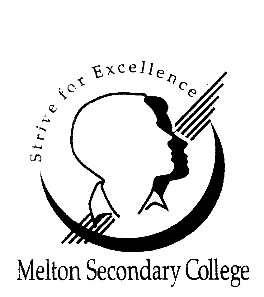 MELTON SECONDARY COLLEGE STRIVE FOR EXCELLENCE by Melton