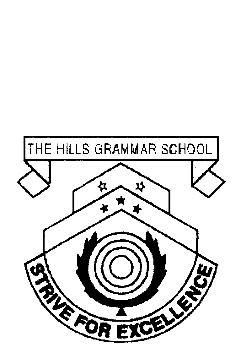 THE HILLS GRAMMAR SCHOOL STRIVE FOR EXCELLENCE by The