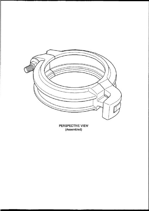 Interlocking pipe coupling by Mining Supplies Australia