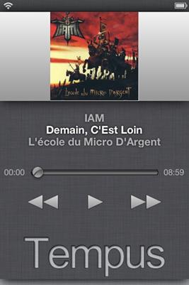 Iam Demain C Est Loin Paroles : demain, paroles, Cydia, Tempus, Controle, Musique, Intuitif, Lockscreen, IPhoneAddict.fr
