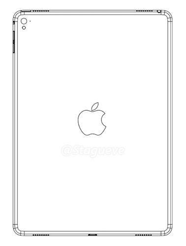 iPad Air 3 : quatre haut-parleurs et un flash à l'arrière