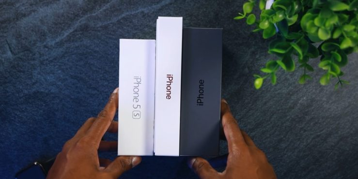 IPhone 5s Box vs New iPhone 11 Box vs iPhone 8 Box