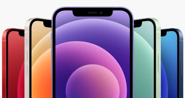 iPhone 12 Avant Coloris Mauve