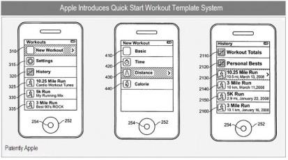 Brevetto Apple: un nuovo modello per l'allenamento