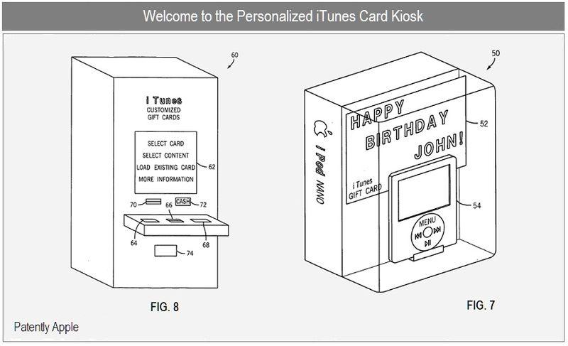 Brevetto Apple: i chioschi per personalizzare le iTunes