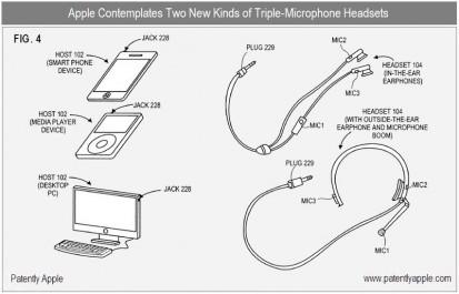 Apple brevetta delle cuffie con sistema di cancellazione