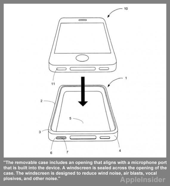 Apple brevetta un Bumper che riduce i rumori percepiti dal