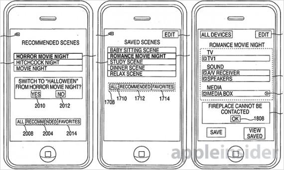 Un brevetto Apple per usare l'iPhone come telecomando
