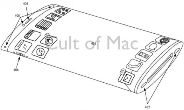 Apple brevetta (ancora) l'iPhone con display