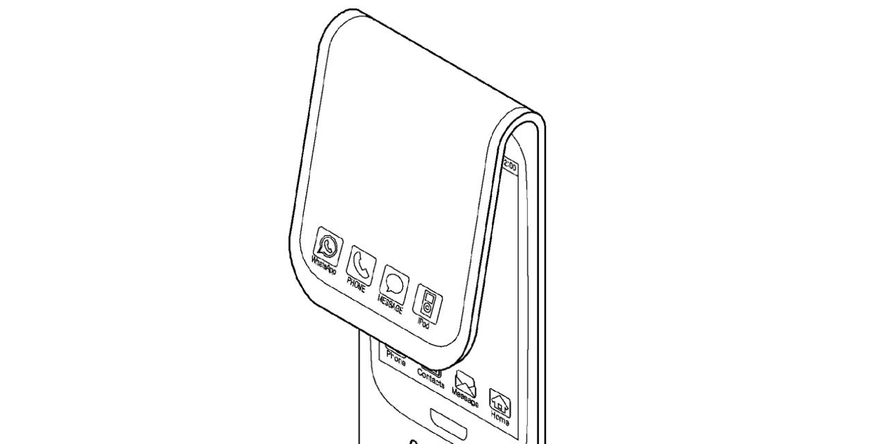 In un nuovo brevetto Samsung compare l'app... iPod