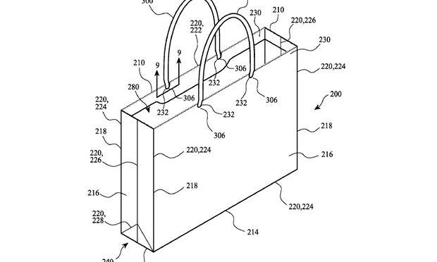 Apple brevetta anche la busta realizzata con carta