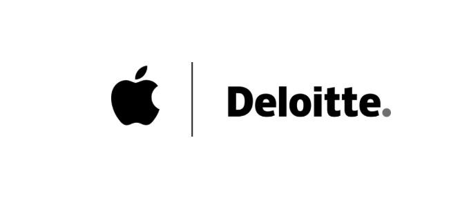 Apple e Deloitte insieme aiutare le aziende a lavorare su