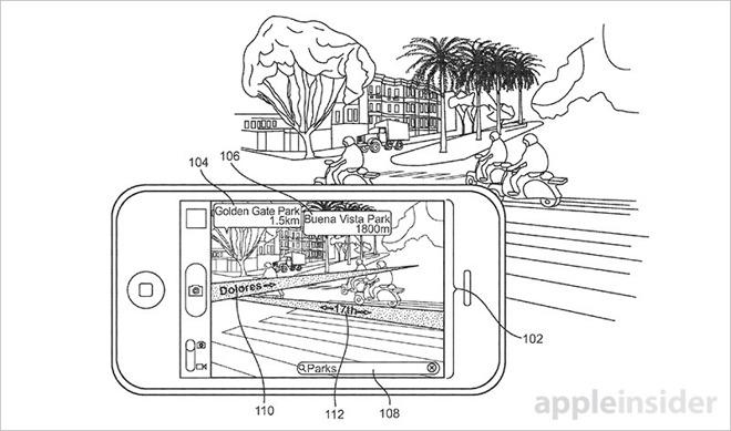 Mappe con realtà aumentata, ecco il nuovo brevetto Apple