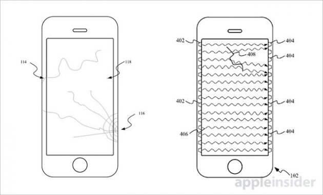Apple brevetta un sistema che rileva e notifica i danni al