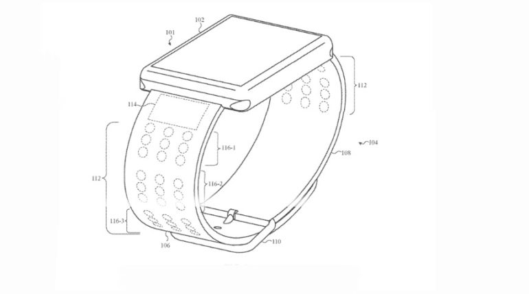 Apple brevetta il cinturino Braille per Apple Watch