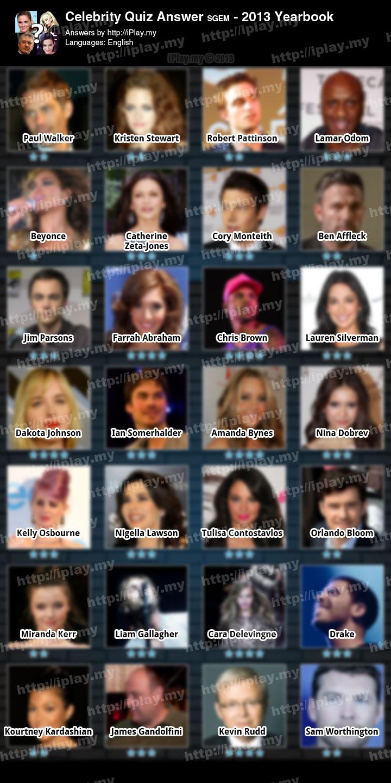 100 Pics Answers Movie Stars : answers, movie, stars, Photo:, Celebrity, Photo, Answers