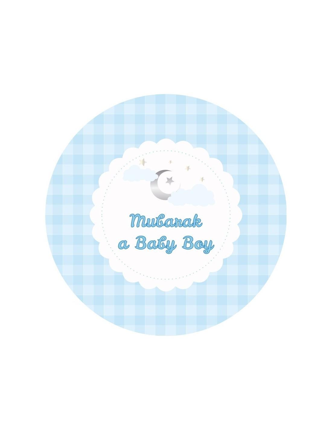Baby Mubarak Images : mubarak, images, Dessert, Plates, Mubarak, (6pk)