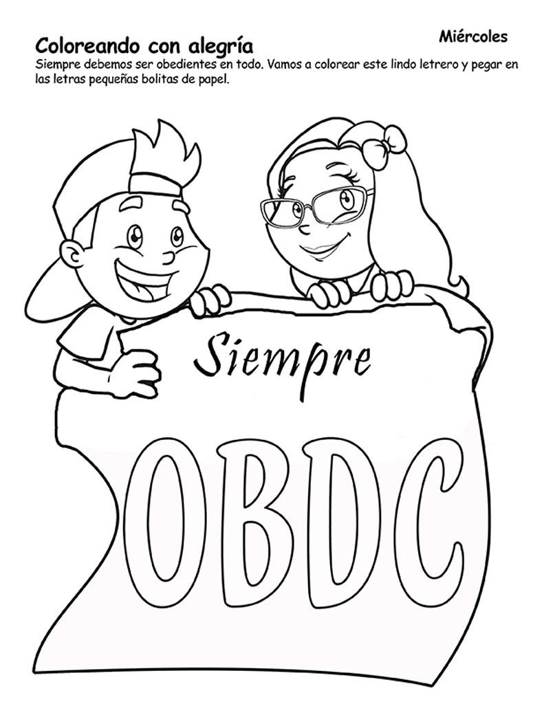 Dibujos Biblicos Para Colorear De Adan Y Eva