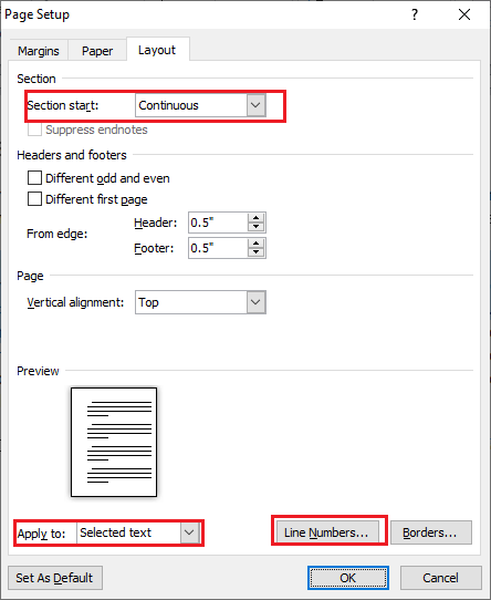 Add Line Numbers In Word : numbers, Remove, Numbers, Microsoft, Document, Javatpoint