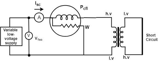 open circuit test for transformer