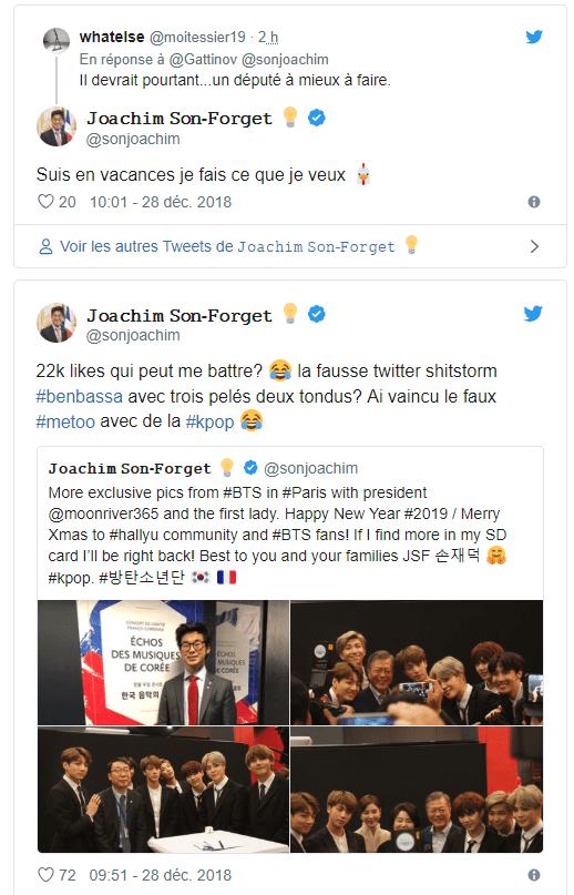 Joachim Son-forget Femme : joachim, son-forget, femme, Accusé, Sexisme, Envers, Sénatrice,, Député, Marche