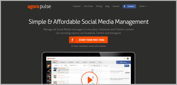 Social media reporting tools
