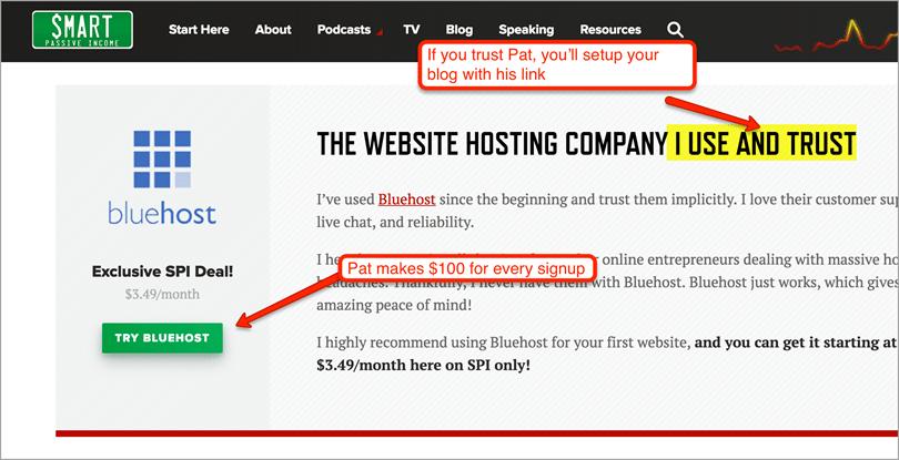Patt Flynn web hosting for blog monetization strategies