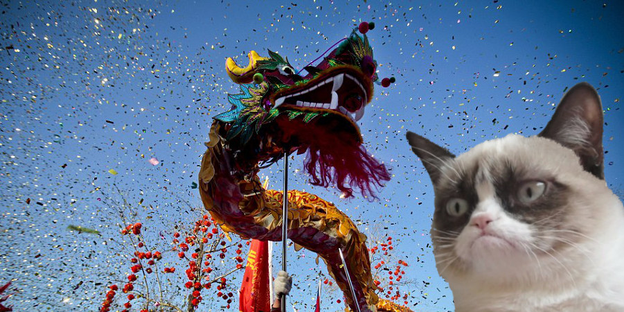 La lgende des douze animaux du zodiaque chinois et du chat qui fait du boudin  Que te prdit