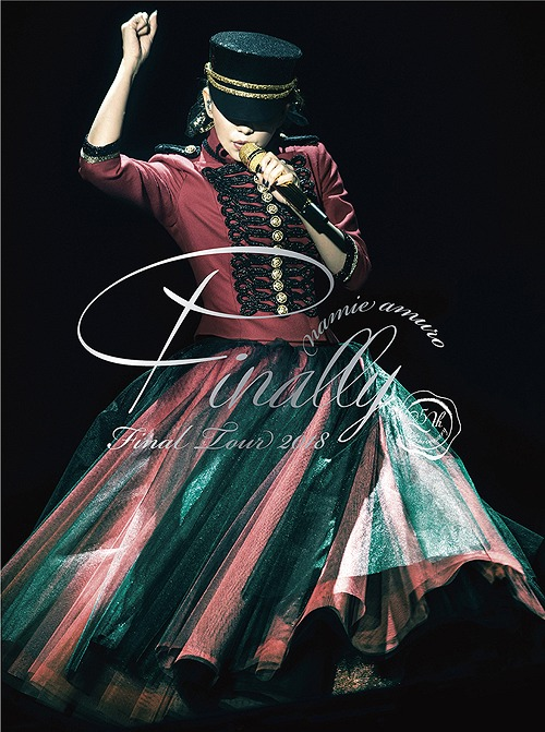 Namie Amuro Namie Amuro Final Tour 2018 Finally 5dvd